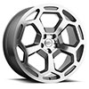 TSW Bashford Alloy Wheels Gunmetal with Mirror Cut Face