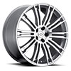 TSW Manor Alloy Wheels Silver w/Machine Face