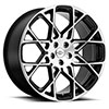 TSW Meridian Alloy Wheels Gloss Black w/Mirror Cut Face