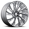 TSW Noble Alloy Wheels Gloss Titanium with Gloss Black Face