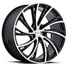 TSW Noble Alloy Wheels Matte Black with Machine Face