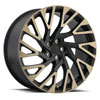 TSW Westminster Alloy Wheels Matte Black with Machine Face & Dark Matte Tint