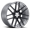 TSW Windsor Alloy Wheels Silver w/Gloss Black Face
