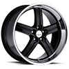 TSW Morro Alloy Wheels Gloss Black w/ Mirror Lip