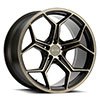 TSW Helsinki Alloy Wheels Dark Bronze w/ Brushed Bronze Face
