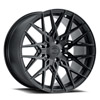 TSW Phoenix Alloy Wheels Double Black (Matte Black w/ Gloss Black Face)