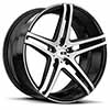 TSW Caracas Alloy Wheels Matte Black w/ Brushed Face