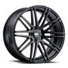 TSW Milan Alloy Wheels Matte Black
