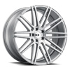 TSW Milan Alloy Wheels Silver w/ Brushed Face