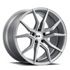 TSW Verona Alloy Wheels Silver w/ Brushed Face