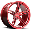 TSW XF2 Alloy Wheels Ruby (Brushed Red)