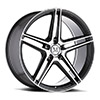 TSW Bremen Alloy Wheels Gloss Gunmetal w/ Mirror Cut Face
