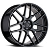 TSW Miglia Alloy Wheels Semi Gloss Black