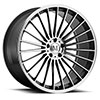 TSW 23 Alloy Wheels Gloss Gunmetal w/Mirror Cut Face