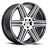 TSW Atlas Alloy Wheels Gunmetal w/ Mirror Cut Face