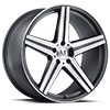 TSW Estrella Alloy Wheels Gunmetal with Mirror Cut Face