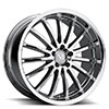 TSW Millennium Alloy Wheels Chrome
