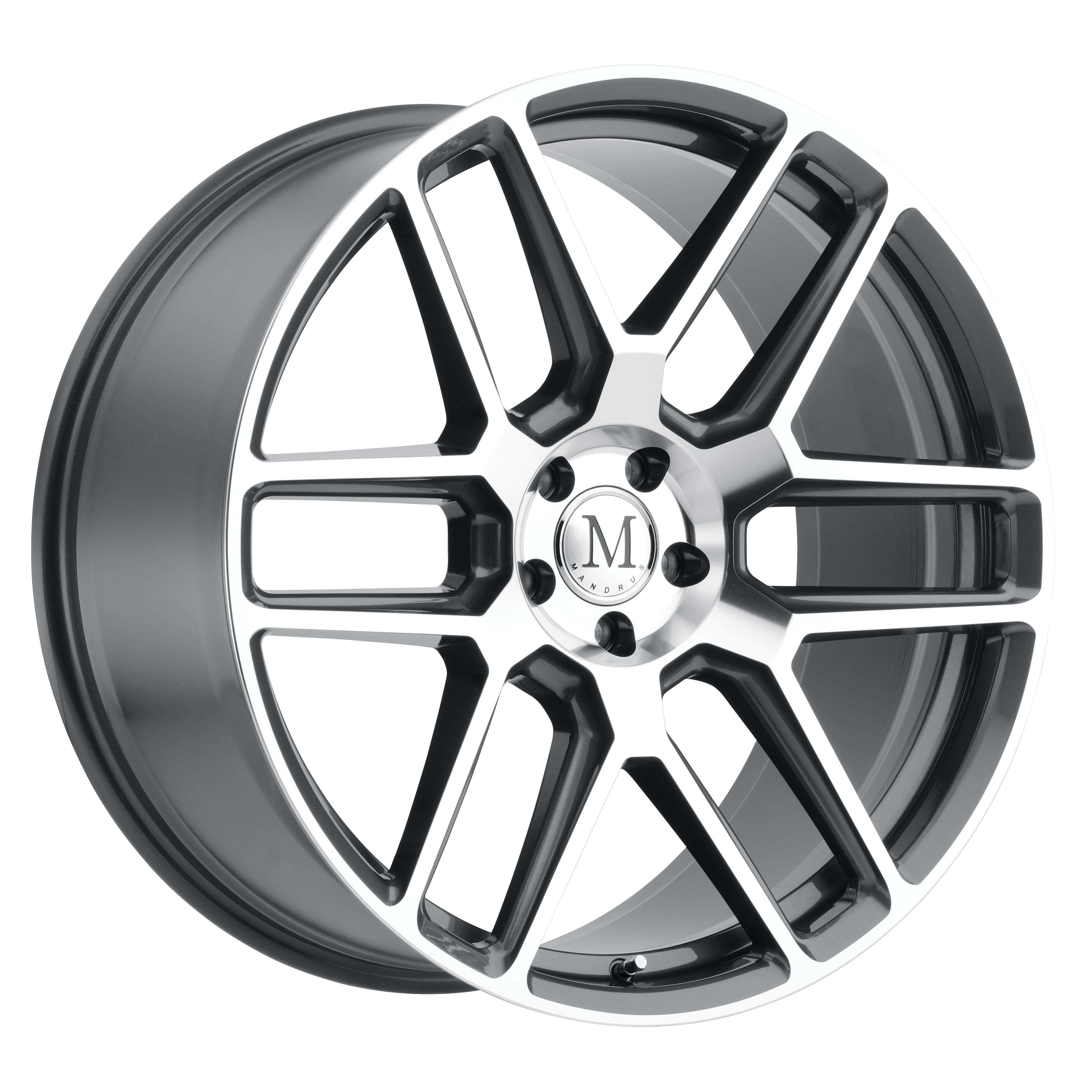 Otto mercedes benz wheels by mandrus for Mercedes benz lug pattern