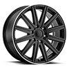 TSW Stark Alloy Wheels Matte Black w/Machine Lip Edge