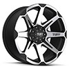 TSW T05 Alloy Wheels Flat Black w/ Machine Face