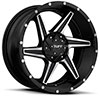 TSW T11 Alloy Wheels Satin Black w/ Machined Flange