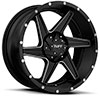 TSW T11 Alloy Wheels Satin Black w/ Milled Spokes