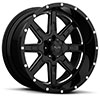T15 Gloss Black w/ Milled Spokes
