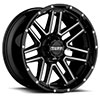 T17 Gloss Black w/ Milled Spokes