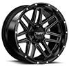 TSW T17 Alloy Wheels Satin Black w/ Machine Face