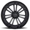 T21 Gloss Black w/ Milled Spokes