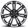 T22 Gloss Black w/ Milled Spokes & Stainless Steel Bolts