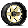 TSW T1A Alloy Wheels Gold w/ Gloss Black Lip