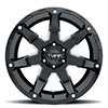 T4A Gloss Black w/ Milled Spoke