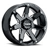 TSW T4A Alloy Wheels Gloss Black w/ Milled Spoke