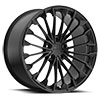 TSW Wurttemburg Alloy Wheels Matte Black w/Gloss Black Face