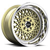TSW R362 Alloy Wheels Gold w/ Machined Lip