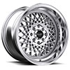 TSW R362 Alloy Wheels Hyper Silver w/ Machined Lip