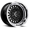TSW R362 Alloy Wheels Satin Black w/ Machined Lip
