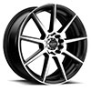 TSW R366 Alloy Wheels Satin Black w/ Machined Face