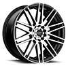 TSW R367 Alloy Wheels Satin Black w/ Machined Face