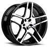 TSW R954 Alloy Wheels Gloss Black w/ Machined Face