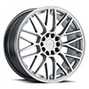 TSW Overdrive Alloy Wheels Hyper Silver