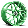 TSW R351 Alloy Wheels Bright Green
