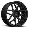 TSW R351 Alloy Wheels Flat Black