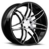 TSW R960 Alloy Wheels Gloss Black w/ Machined Face