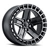 TSW Alston Alloy Wheels Matte Black with Machined Dark Tint Lip