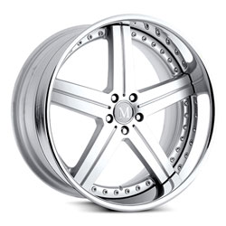 Rotec - Silver Mercedes Benz Wheel