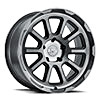 TSW Chase Alloy Wheels Brushed Gunmetal