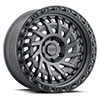 TSW Shredder Alloy Wheels Matte Gunmetal w/ Black Lip Edge