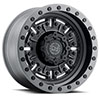 TSW Abrams Alloy Wheels Textured Matte Gunmetal